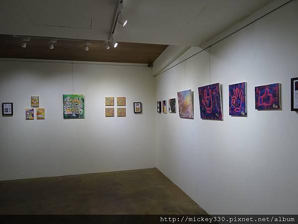 2014 6 13起~黎畫廊聯展~感謝科偉藝術家~參展~也幫忙幕後工作 (11)