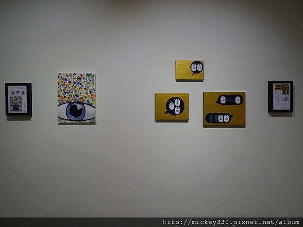 2014 6 13起~黎畫廊聯展~感謝科偉藝術家~參展~也幫忙幕後工作 (14)