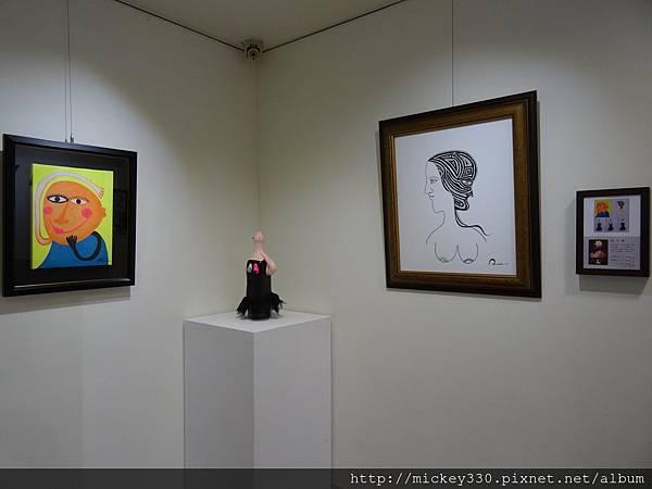 2014 6 13起~黎畫廊聯展~感謝科偉藝術家~參展~也幫忙幕後工作 (15)