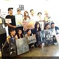 2014 6 14 黎畫廊 x 黃子佼 流水波光聯展開幕 (11)
