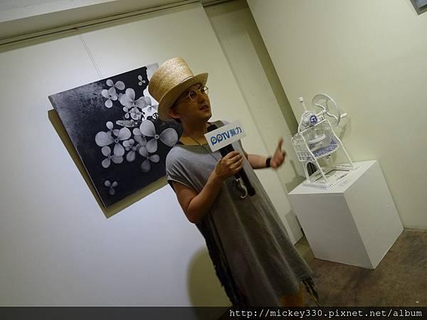 2014 6 14 黎畫廊 x 黃子佼 流水波光聯展開幕 (17)