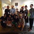 2014 6 14 黎畫廊 x 黃子佼 流水波光聯展開幕 (22)