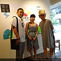 2014 6 14 黎畫廊 x 黃子佼 流水波光聯展開幕 (23)