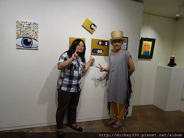 2014 6 14 黎畫廊 x 黃子佼 流水波光聯展開幕 (37)