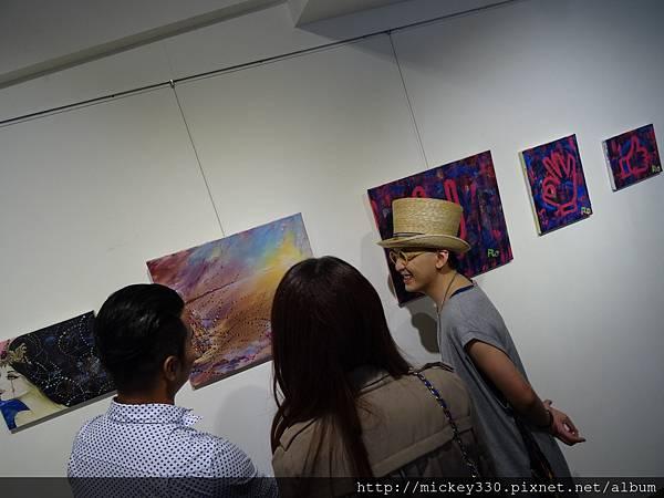 2014 6 14 黎畫廊 x 黃子佼 流水波光聯展開幕 (41)