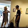 2014 6 14 黎畫廊 x 黃子佼 流水波光聯展開幕 (46)