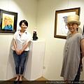 2014 6 14 黎畫廊 x 黃子佼 流水波光聯展開幕 參展藝術家   苗可麗 (1)