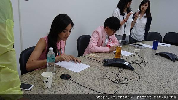 2014 8 5 TVBS節目宣傳之星馬越洋訪問