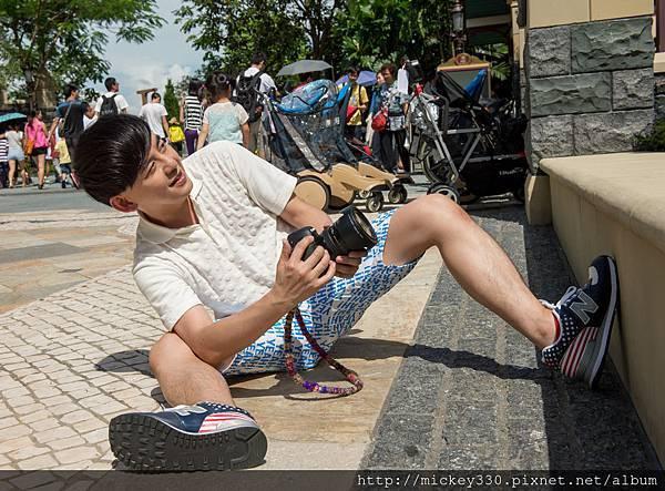 2014 9 香港迪士尼樂園 x 黃子佼 (1)