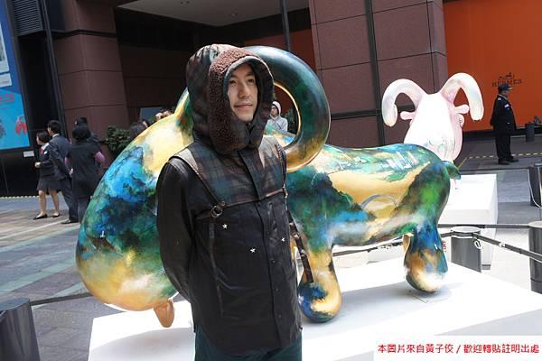 2015 4 13 新光三越羊年燈展 台南.拾光 剪綵開展  (25)