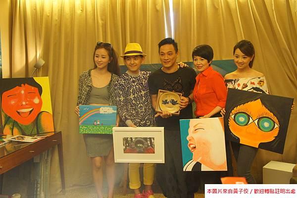 2015 4 25 YOUNG ART 黎畫廊 開展 記者會 (13)