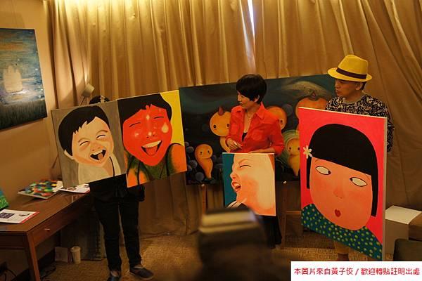 2015 4 25 YOUNG ART 黎畫廊 開展 記者會 (10)