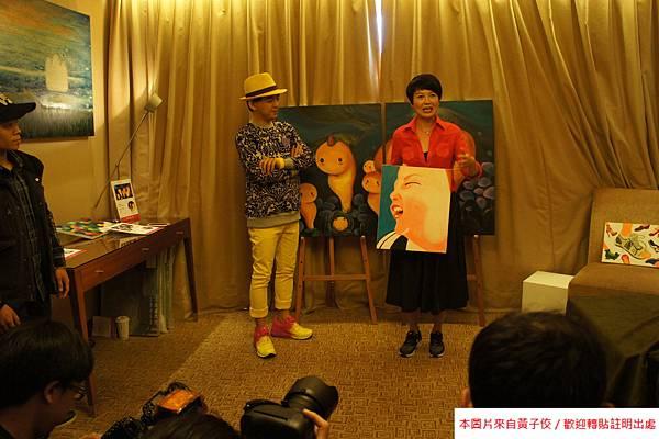 2015 4 25 YOUNG ART 黎畫廊 開展 記者會 (9)