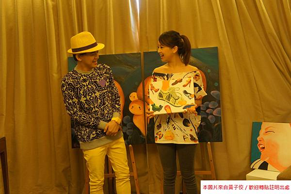 2015 4 25 YOUNG ART 黎畫廊 開展 記者會 (4)