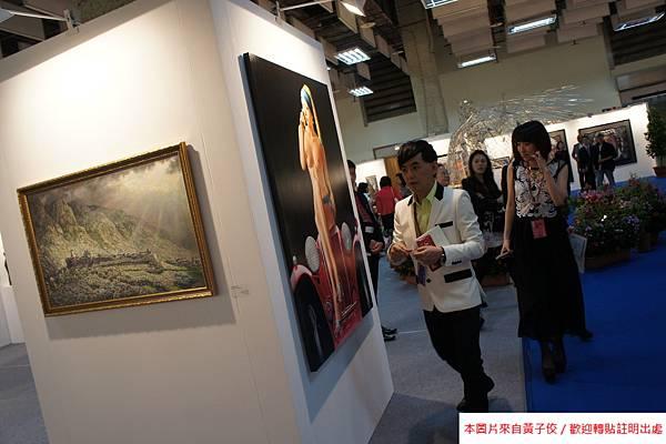 2015 5 7 第五屆 台北新藝術博覽會 開幕之夜與評審 (6)