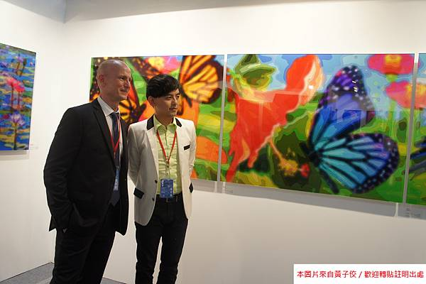 2015 5 7 第五屆 台北新藝術博覽會 開幕之夜與評審 (3)
