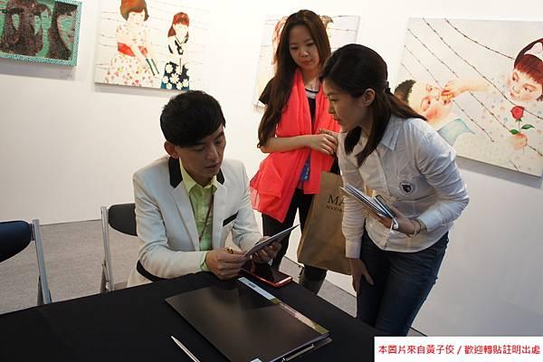 2015 5 7 第五屆 台北新藝術博覽會 開幕之夜與評審 (2)