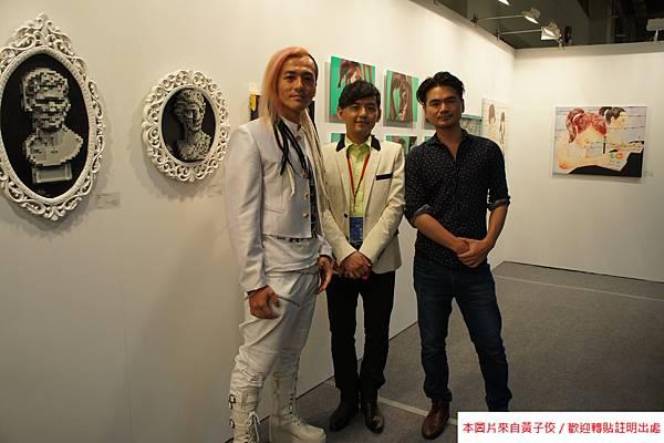 2015 5 7 第五屆 台北新藝術博覽會 開幕之夜與評審 (1)