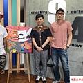 2015  9 30街角遊藝「圖」顯彩色正義-Candy Bird、黑雞 (7).JPG