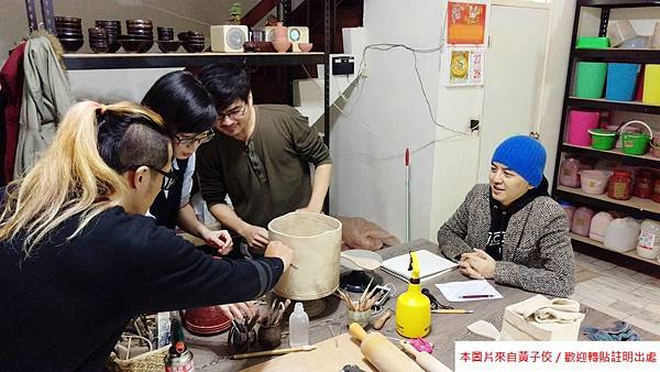 感恩大力幫我們實驗陶藝作品的黃存仁老師  劉修如老師 (3)