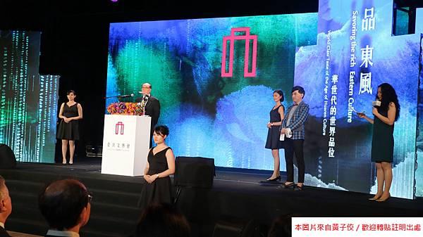 2016 4 20 文博會開幕記者會 影片拍攝 藝術銀行攤位導覽 TVBS訪問 (5)