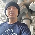 2017 6 16 KAWS @ 上海余德要美術館 始於終點 展  (3)