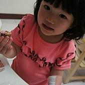 0328-楷楷做甜甜圈