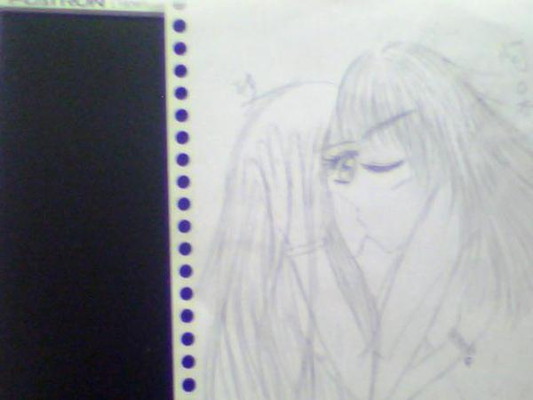 我和阿呆kiss.BMP