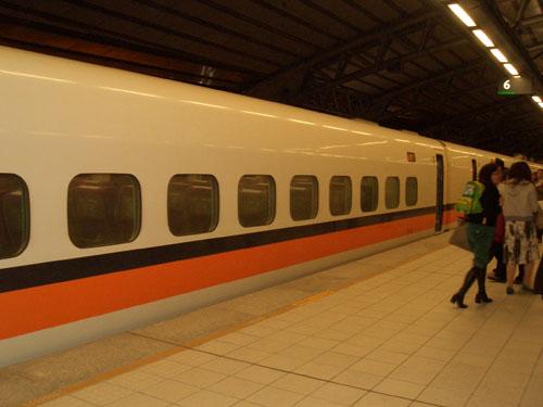 台灣高鐵車廂