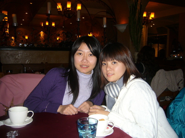 好久不見的好姐妹瑤瑤和很有誠意的小鋼炮