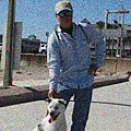 oldMan&Dog