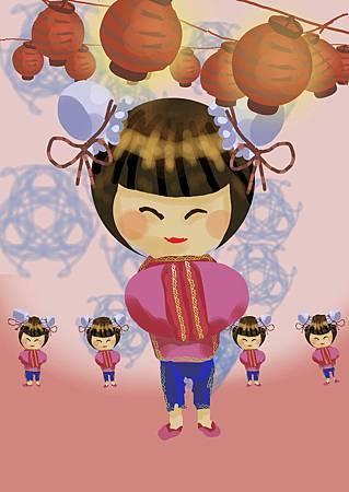 中國小女生
