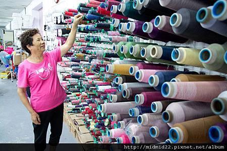 針對不同衣服就用不同的線_線圈牆超有power