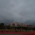 20130106初晚民眾與於雲霧繚繞