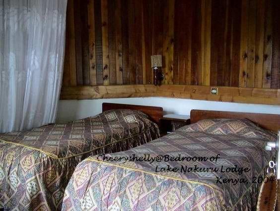 Lake Nakuru Lodge Room