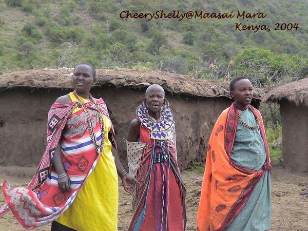 Maasai mum