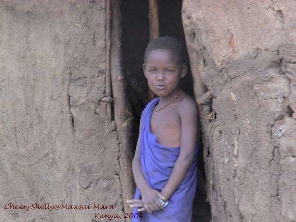 Maasai kid