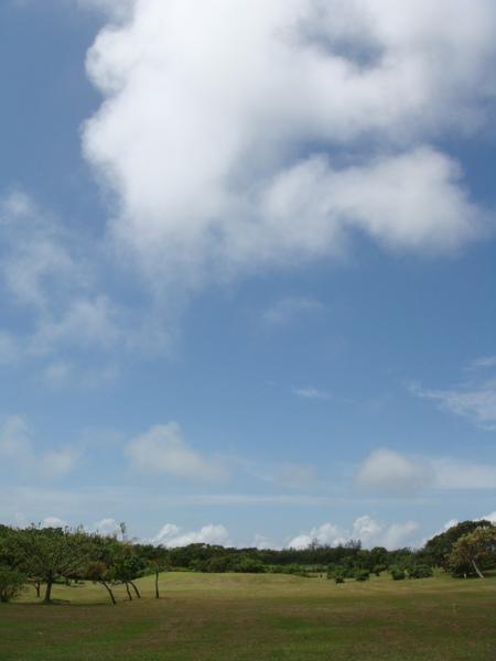社頂公園的天空