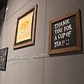 牆上可愛的小標語