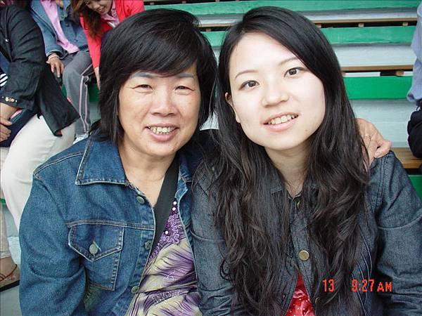 ♡媽咪跟姐姐,媽咪超開心♡