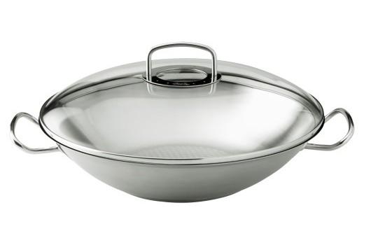 Fissler wok - glass lid