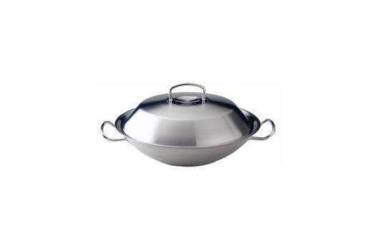 Fissler wok - stainless steel lid