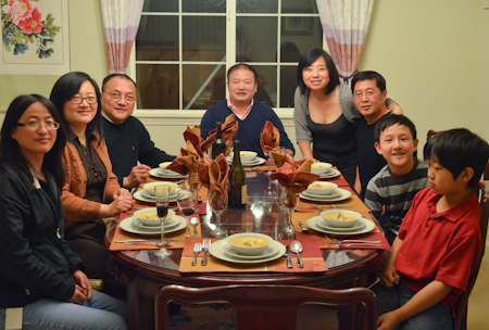 Whole family with host (1 of 1)