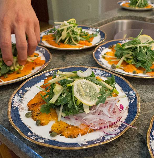 醃鮭魚前菜-2
