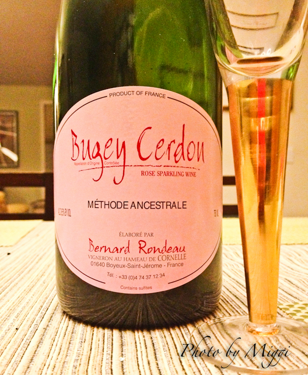 Bugey Cerdon with name