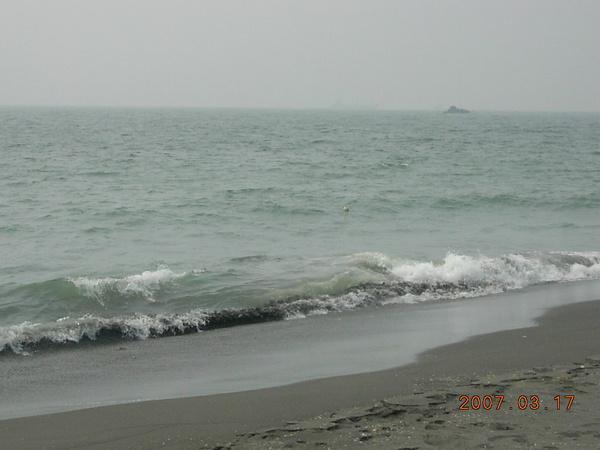 旗津的海灘