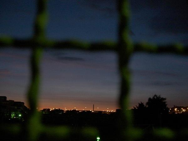 好美的黃昏
