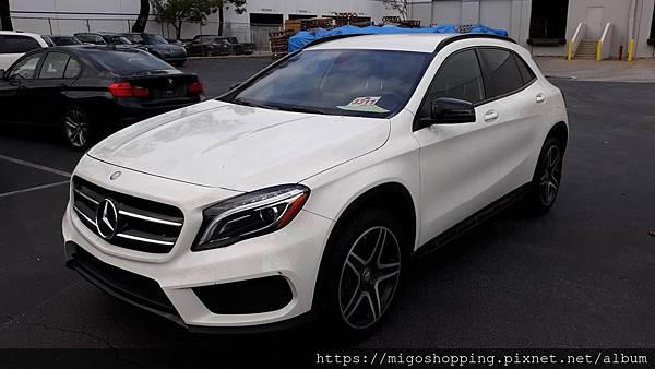 自辦美規外匯車 Mercedes-Benz GLA250 性能配備介紹,回台流程分享 LA桃園車庫。