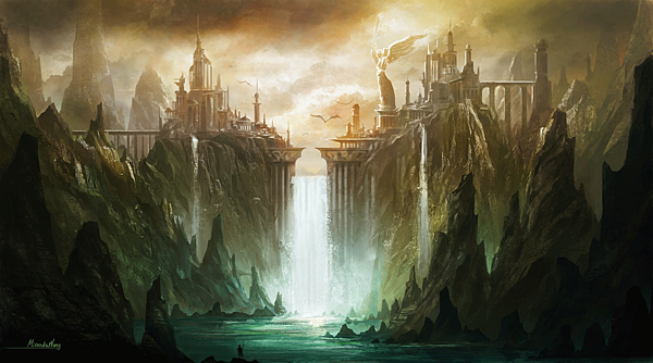 artwork-cities-fantasy-art-landscapes-waterfalls-2808487-1676x933