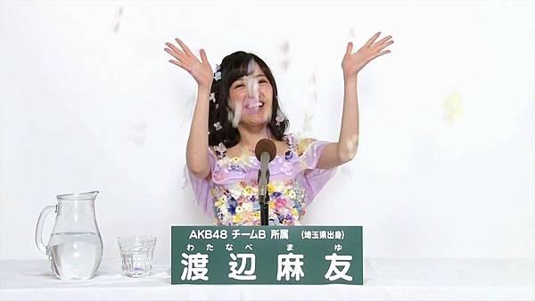 AKB48 45thシングル 選抜総選挙 第8回政見_20160524230754